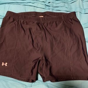 Under Armour Spandex Shorts XL